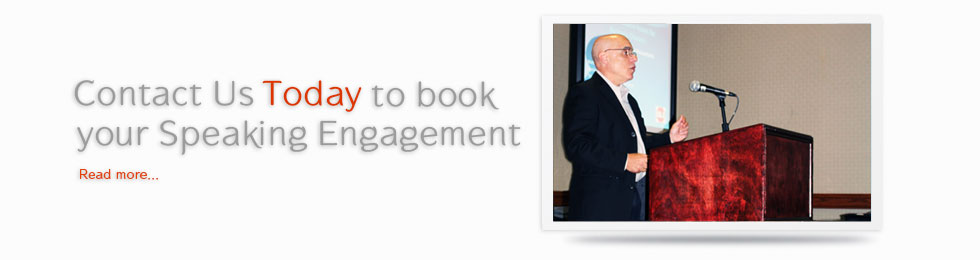 Contact us Today to book your Speaking Engagement!